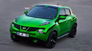 green nissan juke folioplus profesyonel araç kaplama merkezi