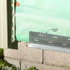 13 simple vinyl siding installation tips family handyman