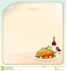 thanksgiving greeting card stock vector image of bird 30313555