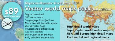 map usa pdf vector world maps pack edition maptorian