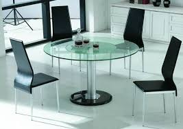dining table center center movable glass dining table with black marble base