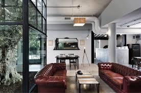 industrial home interior interior celebrates mixture industrial design memorabilia unique