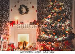living room decorations beautiful stock photo