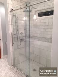 carrara venato bathroom tiles used are 12x12