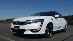 hydrogen fuel cell car toyota honda will lease you a clarity fuel cell car for 369 per month