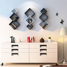 Wall Shelves Design Cube Wall by 2017 New Design Three Cross Wall Shelf Wall Display Eco Friendly