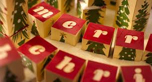 merry blocks spell greetings or stack up as