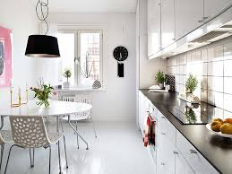 Small Kitchen Interiors Long Kitchen Table At Rustic Dining Table Scandinavian Dining Room