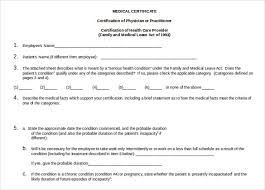 Certification Of Employment Letter Exle Medical Certificate Format Medical Certificate Format Medical