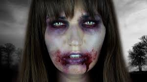 the walking dead zombie halloween tutorial youtube