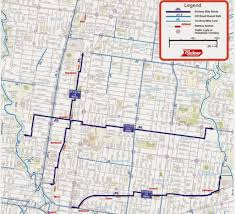 Create Route Google Maps by Melbourne Map Of Key Cycling Transport Routes Infrastructure And