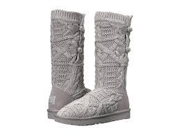 ugg womens tatum boots chestnut lyst ugg kalla in gray