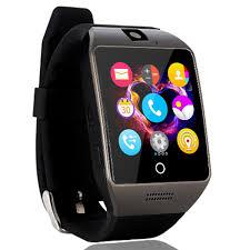 agptek q18s smart watch lcd touch intelligent wristwatch with