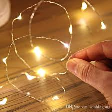 cheap 1m1 5m2m3m submersible led copper wire string lights coin