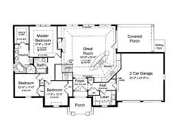 open concept home plans blueprints for houses with open floor plans open floor plan