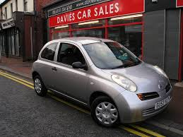 nissan micra 1 0 e 3dr manual for sale in ellesmere port davies