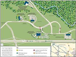 Washington University Campus Map by The George Washington University Gwu Maplets