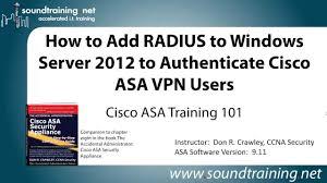 how to add radius to windows server 2012 to authenticate cisco asa
