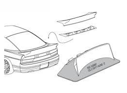 nissan sileighty abc hobby 66727 nissan sileighty 180sx wing ver 2 rc modellbau