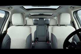 land rover defender interior back seat first look u2014 land rover discovery svx makes official debut
