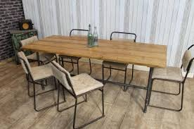 Industrial Style Dining Room Tables Home Design Glamorous Industrial Style Dining Furniture Best