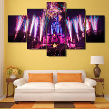 disney brightest lights hq 5 canvas print arts n