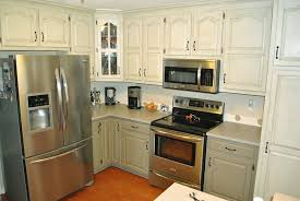 two color kitchen cabinets ideas painted kitchen cabinets two colors but with black appliances