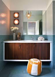Captivating  Mid Century Modern Bathroom Tile Inspiration Of - Amazing mid century bathroom vanity house