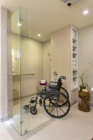 design a bathroom for free accessible barrier free aging in place universal design
