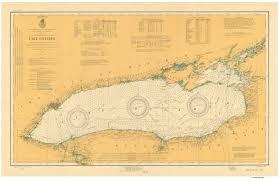 Lake Superior Map New York Historical Nautical Charts