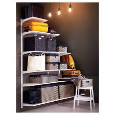 ikea stairs algot wall upright shelves ikea