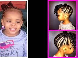 hairstyles for african noses african american braids hairstyles for little girls youtube
