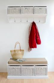 Entryway Storage Shelf by Entryway Storage Bench With Coat Rack Uk Bench Decoration