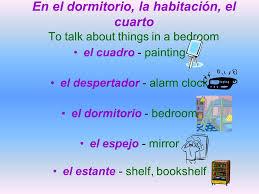 Things In A Bedroom 6a Vocabulario Página Ppt Descargar