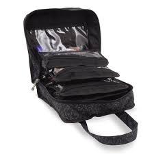 amazon com roo beauty bitzee makeup storage organiser bag