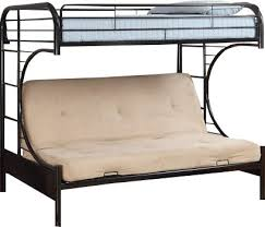 Hokku Designs Prism Twin Futon Bunk Bed  Reviews Wayfair - Twin futon bunk bed