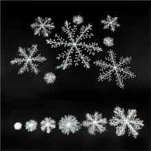 popular plastic snowflake ornaments buy cheap plastic snowflake
