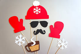 Christmas Photo Booth Props 15 Holiday Photo Booth Props To Make You Lol Holidays Xmas And