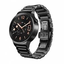 steel link bracelet images Huawei black plated stainless steel case with black plated jpg