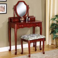 2 Piece Vanity Set Coaster Vanity In Cherry Finish 3441 Walmart Com