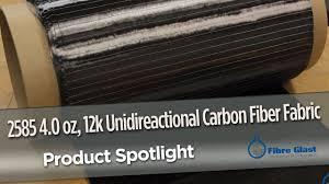 1k Carbon Fiber Cloth Unidirectional Carbon Fabric 4 Oz 12k 006