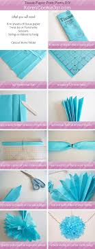 how to make a fan out of paper how to make pom poms out of tissue paper homework writing service