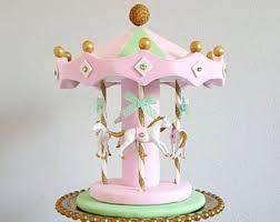 carousel cake topper carousel cake topper etsy