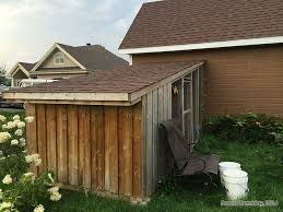 slant roof chicken coop building idea backyard slant roof hen coop