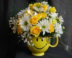 Smiley Flowers - smiley face mug in harrison mi country flowers and more