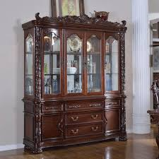 glass shelves for china cabinet 4 door china cabinet with glass shelves in dark rich wood finish