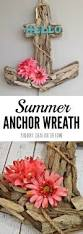 Indoor Wreaths Home Decorating by Anchor Wreath A Nautical Decor Idea For Summer