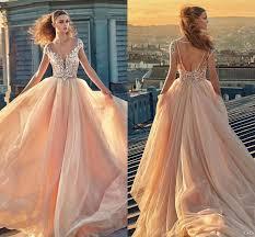 plus size blush wedding dresses modest plus size blush lace cap sleeve wedding dresses backless