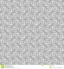 vintage blue grey ornament vector seamless pattern in neutral