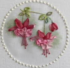 ribbon embroidery flower garden val laird designs journey of a stitcher silk ribbon embroidery